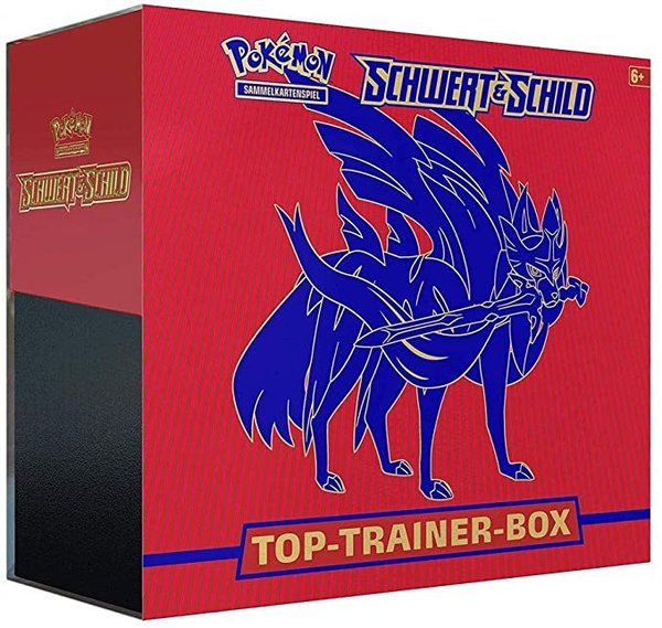 Schwert & Schild Top-Trainer-Box (Zacian)