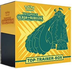Schwert & Schild Clash der Rebellen Top-Trainer-Box
