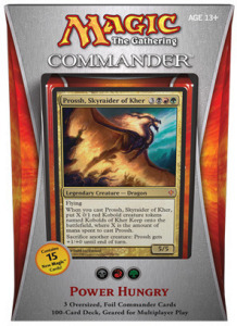 Commander 2013: Hunger nach Macht Commander-Deck