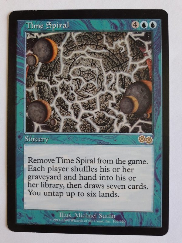 Time Spiral (Urzas Saga, gd+)