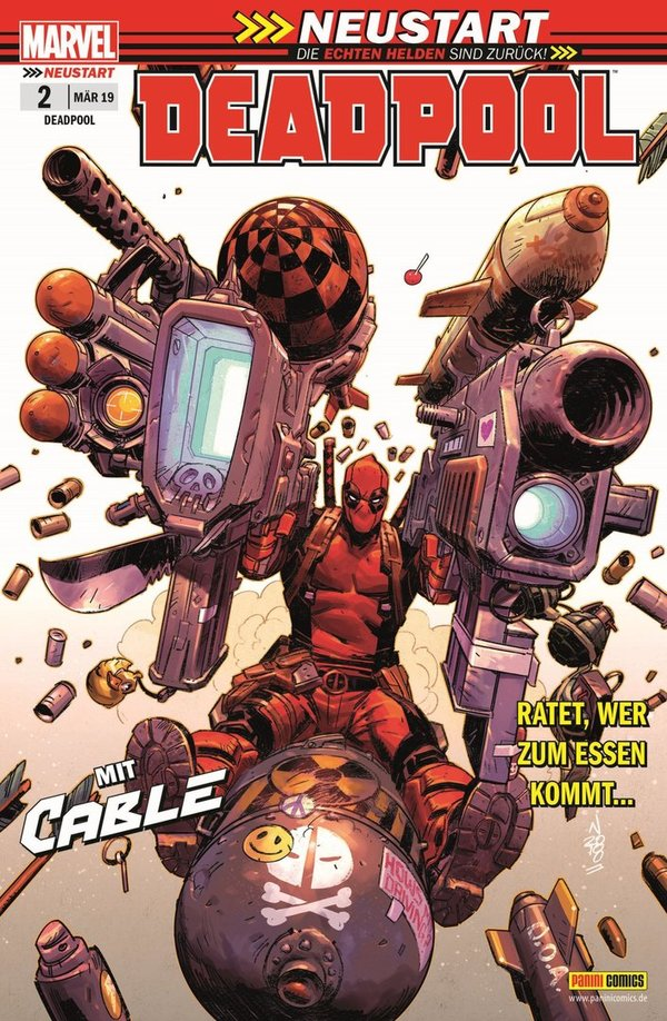 Panini/Marvel: Deadpool Heft 2 (März 2019)